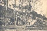 001. Font de Santa Caterina. Postal Lucien Roisin. Dècada de 1920. AMMON (Arxiu Municipal de Montmeló)