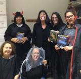 Alumnes a la darrera sessió del club de lectura