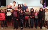 Alumnes i aprenents de català de Ripollet van a veure <em>Mirall Trencat</em> de Mercè Rodoreda