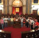 Alumnes de Badia visiten el Parlament de Catalunya i el barri de la Ribera
