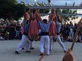 Mostra de danses i músiques tradicionals, en el marc de la presentació d'una nova edició del Voluntariat per la llengua de Roses