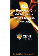 Renovació de la Flama de la Llengua Catalana