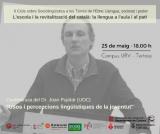 Conferència del Dr. Joan Pujolar en el marc del cicle
