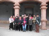 Foto de grup dels assistents a la visita