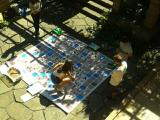 Petits i grans al taller de jocs de Cerdanyola