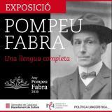 Exposició Pompeu Fabra a Tremp