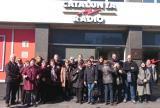 Segona visita de les instal·lacions de Televisió de Catalunya i de Catalunya Ràdio