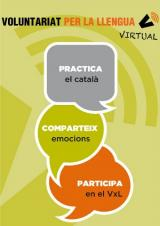 Es posa en marxa la modalitat virtual del Voluntariat per la llengua