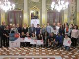 Foto dels participants i les guanyadores