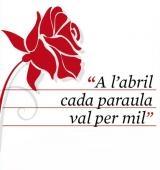 Els cartells A l'abril cada paraula val per mil del CNL El Prat de Llobregat enguany han tractat les interjeccions