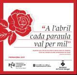 """La campanya """"A l'abril, cada paraula val per mil"""" torna als establiments comercials del Prat de Llobregat"""