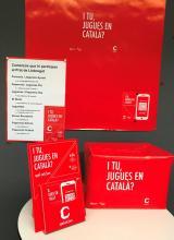 Un any més, la campanya I tu, jugues en català? torna als comerços del Prat