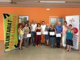 Cloenda del curs de català i de la 1a edició del Voluntariat per la llengua de Cervelló