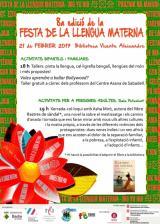 VIII Festa de la Llengua Materna a Badia del Vallès