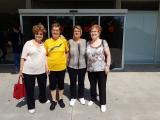 A la zona esportiva Diagonal de Gavà s'ha format un grup de parelles lingüístiques amb persones que hi van a fer gimnàstica