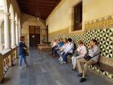 Ruta Pompeu Fabra amb els alumnes del CNL de l'Hospitalet
