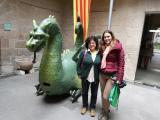 Un drac solsoní amb una parella lingüística