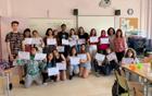 Les parelles lingüístiques de l'Institut Alt Penedès de Vilafranca celebren el final de curs del VxL