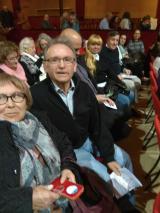 Alumnes dels cursos de català de Vallirana van al teatre