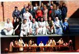 Alumnes i voluntaris per la llengua visiten La Passió d'Esparreguera