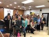 L'alcaldessa d'Olesa de Montserrat inaugura la 15a. edició del Voluntariat per la llengua