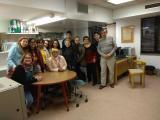 Els alumnes del curs Bàsic 2 visiten la Biblioteca Josep Maria López-Picó de Vallirana
