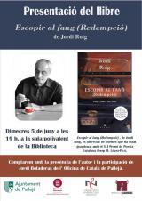 Presentació del llibre <em>Escopir al fang (Redempció)</em>, del poeta Jordi Roig