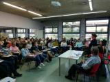 La síndica sedueix el públic del II Dictat Solidari de Terrassa