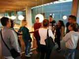 Els alumnes del nivell bàsic 2 de Lloret de Mar visiten la Biblioteca