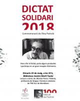 Pedrolo al Dictat Solidari del SLC de Rubí