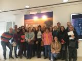 Els alumnes del C1 de Lleida visiten l'exposició de Pichot
