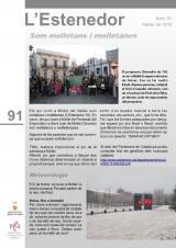 L'Estenedor 91 - Febrer 2012