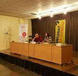 Matthew Tree i Eliana Oliveira donen el tret de sortida als cursos i al VxL del CNL de Sabadell
