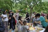 Festa de fi de curs al parc de Vallparadís