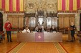 El Saló de Cent de l'Ajuntament de Barcelona va acollir el 21 de gener l'acte de celebració dels 25 anys del CNL de Barcelona.
