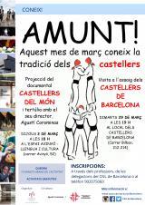 Visita a un assaig dels Castellers de Barcelona