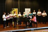 La coral Cor Obert al concert de Nadal de l'Orfeó Manresà