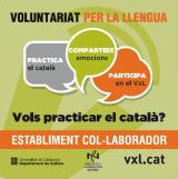 Pràctiques lingüístiques en establiments col·laboradors de VxL