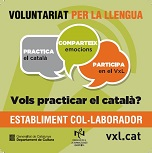 Vuit establiments més del barri de l'Estalvi, adherits a la Xarxa de Comerç de Cardedeu, amb el Voluntariat per la llengua