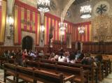Alumnes del CPNL visiten l'Ajuntament de Barcelona amb motiu de l'Any Muntaner