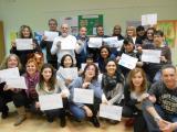 Exposició sobre les llengües maternes dels alumnes de Barberà