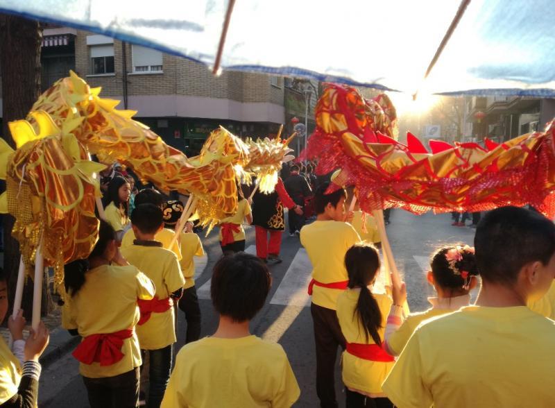 Any Nou Xinès a Santa Coloma de Gramenet