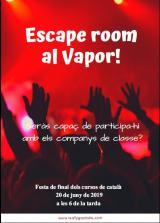 Escape room al Vapor!