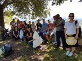 Una visita al castell de Sant Ferran tanca els cursos i l'edició del VxL de Berga
