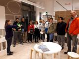 Alumnes de nivell Bàsic de Cerdanyola visiten la Biblioteca Central