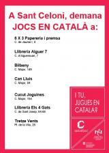 Els jocs en català a Sant Celoni