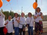 El CNL participa en la Cadena Humana per la Salut Mental organitzada per l'Ajuntament de Sant Adrià de Besòs