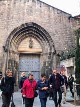 Alumnes de Badia visiten el Call jueu de Barcelona