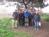 Caminada saludable als aiguamolls de La Murtra amb el voluntariat gavanenc