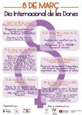 Celebració del Dia de la dona treballadora a Badia del Vallès